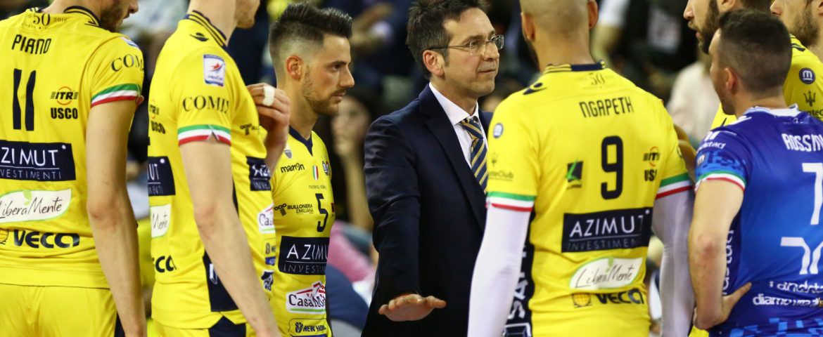 Volley Superlega: Azimut ko in gara 4. In finale va la Lube