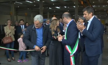 Inaugurato il nuovo stabilimento Metall Steel a Mancasale. VIDEO