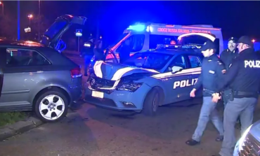 Incidente con la polizia in via Gorizia: il fuggitivo ha 46 anni. VIDEO