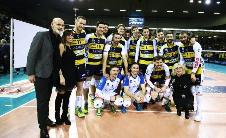 Superlega volley, l'Azimut vince al tiebreak gara 1 con Milano