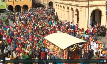 Festa e religione a Novellara: l'invasione colorata dei Sikh. VIDEO