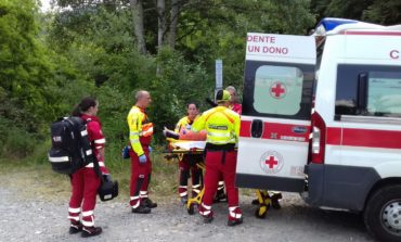 Incidente a Canossa: grave un motociclista di 35 anni. FOTO & VIDEO